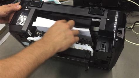 fix paper jam  canon mg series youtube