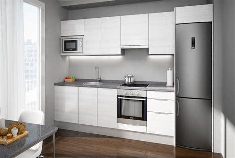 cocinas integrales modernas  espacios pequenos luxsa