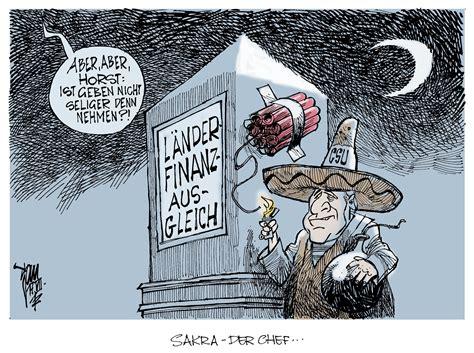 laenderfinanzausgleich aktuelle karikaturen