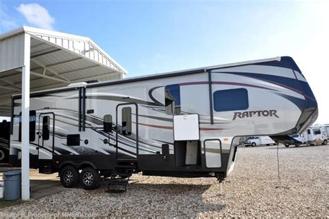 5th Wheel Cers With Bunk Beds by 2015 Keystone Rv Raptor 300mp W 2 Slides Hauler Bunk