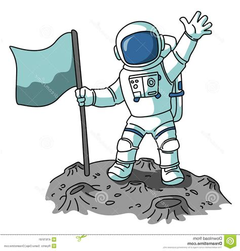 astronaut on moon clipart clipart astronaut pencil and in color