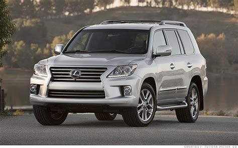 luxury full size suv lexus lx  kbbs  resale