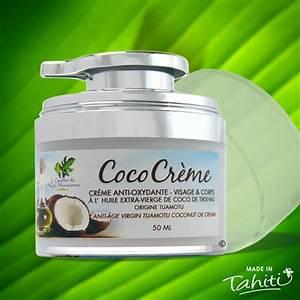 Creme De Coco Pour Cheveux : coco creme visage l 39 huile de coco vierge tikehau 50ml la boutique du monoi ~ Preciouscoupons.com Idées de Décoration
