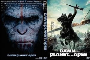 Dawn of the Planet of the Apes DVD Cover (2014) Custom Art