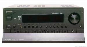 Onkyo Tx-ds989 - Manual - Audio Video Receiver
