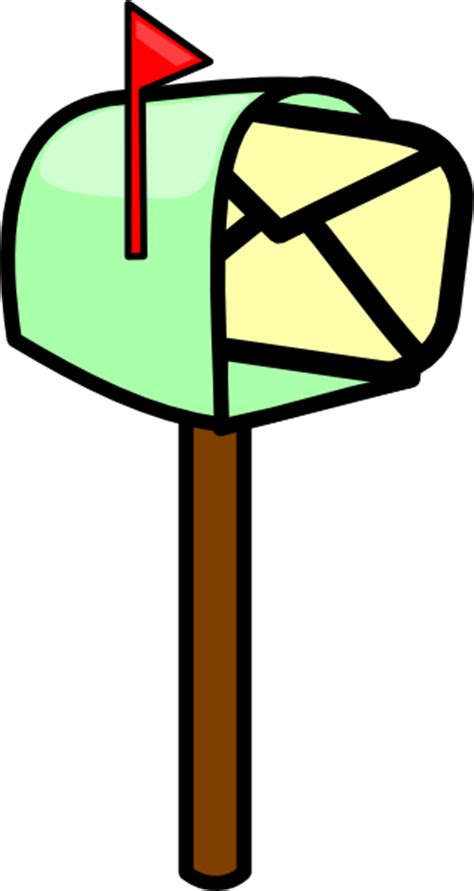 Mailbox Clipart Mailbox With Mail Clip At Clker Vector Clip