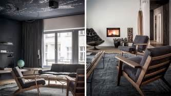berlin interior design nomads sober and apartment interior design wearing charcoal and wood in berlin