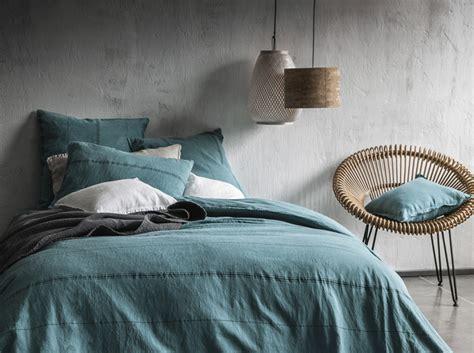 chambre style ethnique linge de lit notre sélection estivale décoration