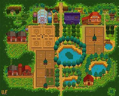Farm Stardew Valley Forest Layout Farms Layouts