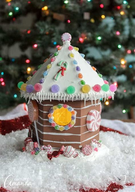 birdhouse gingerbread house  edible