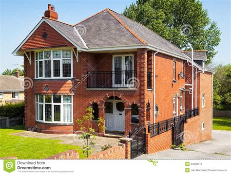 colonial style home plans house with garden stock image image of facade