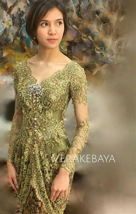baju kebayasimply gorgeous fashion sense indonesian