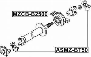Center Bearing Support For Mazda Bt