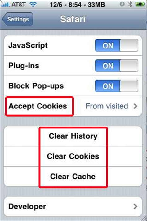 how to enable cookies on iphone image gallery iphone safari settings