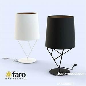 faro tree black white table lamp maxbrute furniture With faro tree floor lamp black white