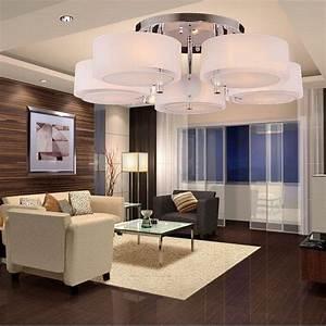 Moderne Deckenleuchten Led : wohnzimmer deckenleuchten ~ Frokenaadalensverden.com Haus und Dekorationen