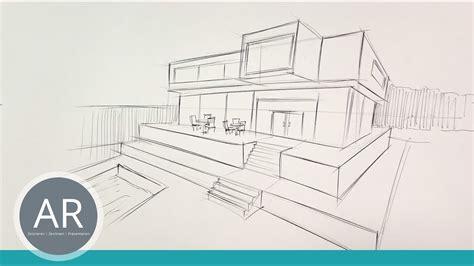 schnelle architektur skizzen architektur zeichnungen mit