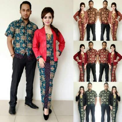 desain baju batik couple anak muda model terbaru