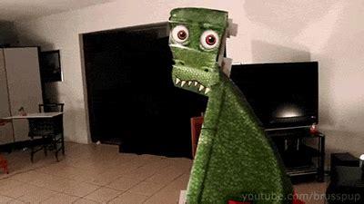 optische taeuschungen mit pappfiguren der stalker  rex