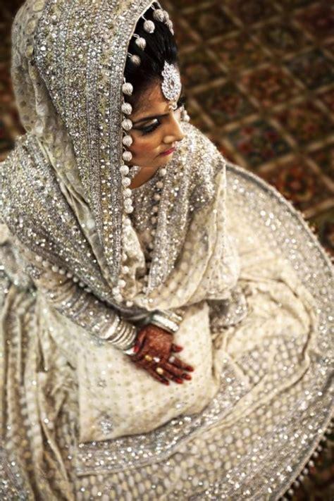 indian wedding white bridal lehenga  weddbook