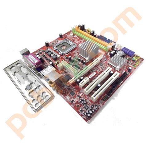 msi ms 7267 ver 4 2 945gcm5 v 2 lga775 motherboard with bp ebay