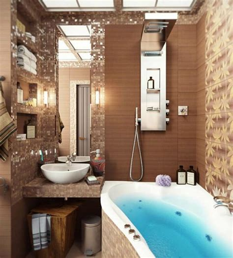 how to design a small bathroom 40 beige and brown bathroom tiles ideas and pictures