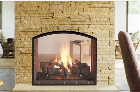 see through electric fireplace heat glo escape see through gas fireplace energy 5108