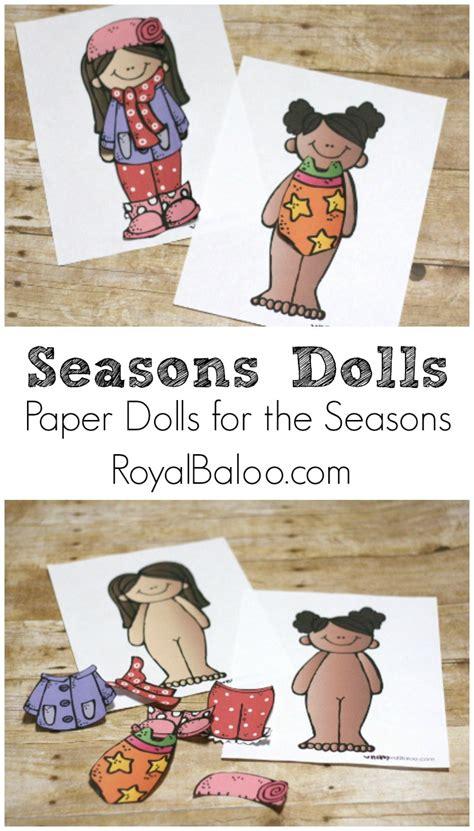 paper dolls   seasons royal baloo