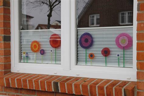 Diy Kommt Ein Vogel Geflogen Fensterdeko Für Den Frühling