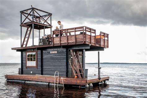 Build Your Own Boat Swim Platform by Deluxe Swim Platform Rent This Diy Floating Sauna