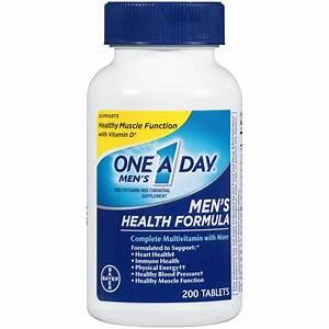 One A Day Men's Health Formula Multivitamin, 200 Count ...