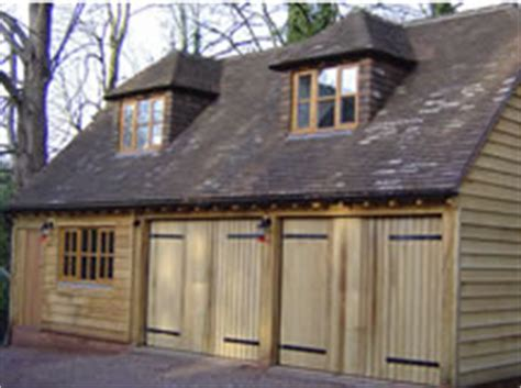 Oak Framed Garages and Annexes in Surrey, Sussex