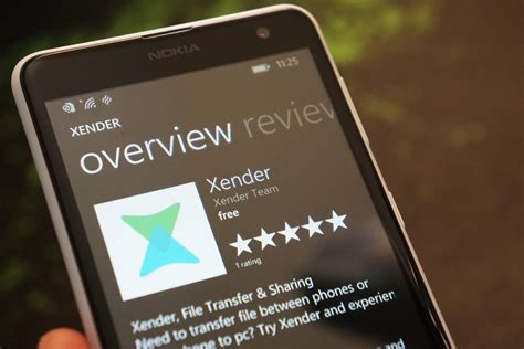 xender for windows phone gets its bug fixing update windows central