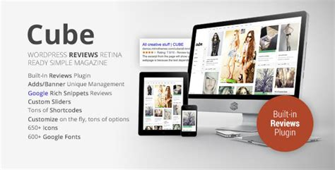 Cube Template Theme Forest by Cube Multipurpose Simple Reviews Magazine By