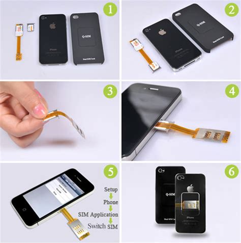 how to take out sim card from iphone 5 dual sim card adapter for iphone 4 4s with back cover