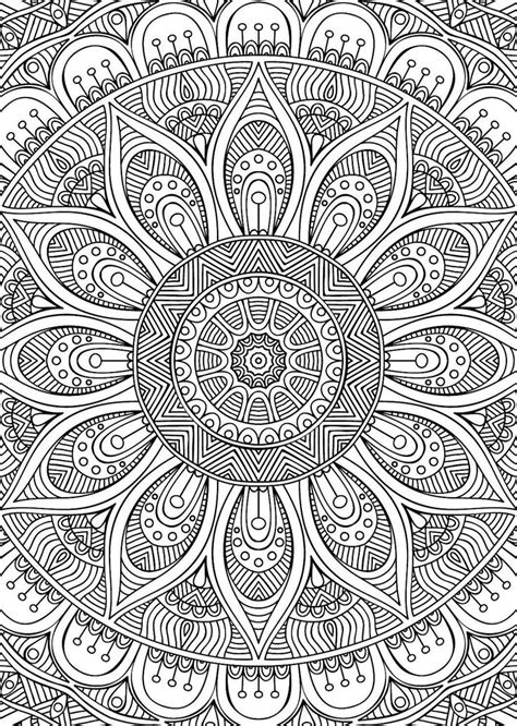 didzioji mandalu knyga coloring pages  adults