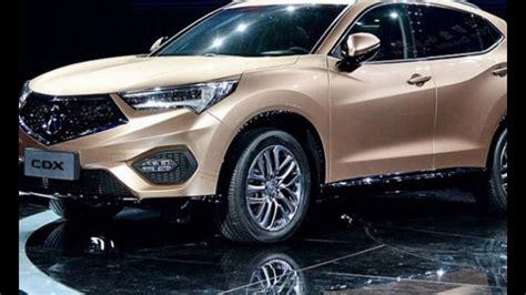 The Suv 2018 Acura Cdx New ?? Youtube