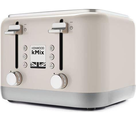 kenwood toaster kmix buy kenwood kmix 4 slice toaster free delivery currys