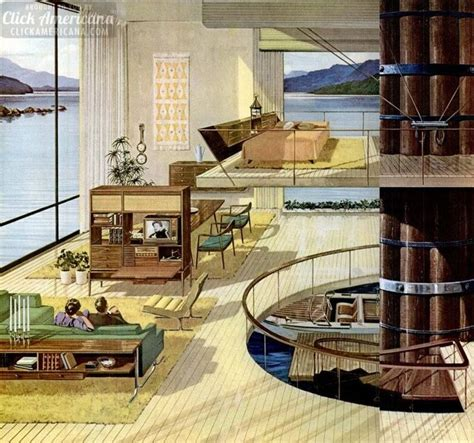 stunning space age retro futuristic home concepts