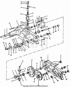 Mtd 131704f  1991  Parts Diagram For Transaxle