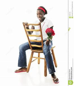 Backwards-Sitting Preteen Stock Photo - Image: 43787725