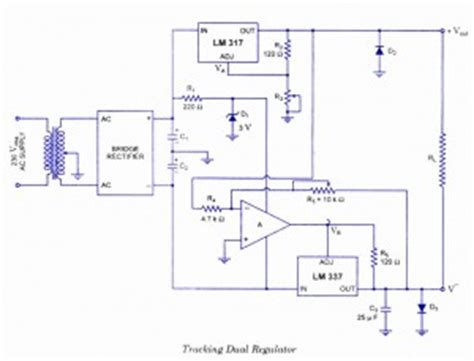 Dual Power Supply Circuit Diagram With Explanation