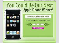 You don't want that free iPhone another Twitter scam