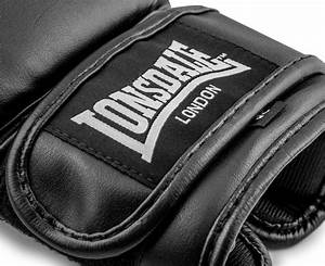Boxing Glove Size Chart Lonsdale Bag Glove Boxing Gloves Black White Scoopon