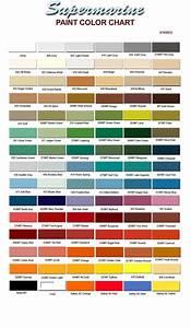 Paint Color Chart