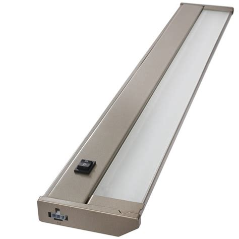 dimmable led under cabinet lighting 120v 24 quot dimmable led under cabinet light bar energy