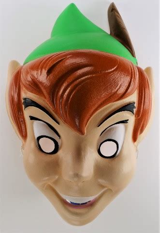 vintage disney peter pan halloween mask  cesar