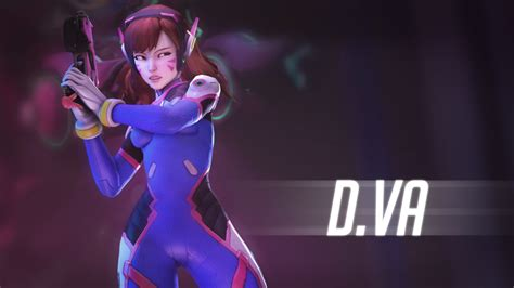(overwatch) Dva Wallpaper By Ferexes On Deviantart