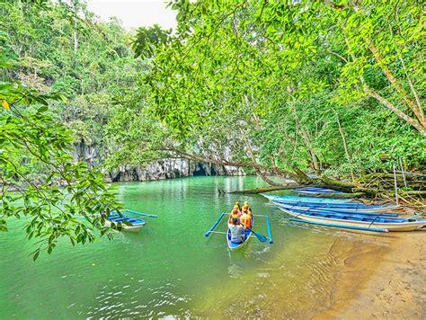 palawan underground river sabang beach philippines