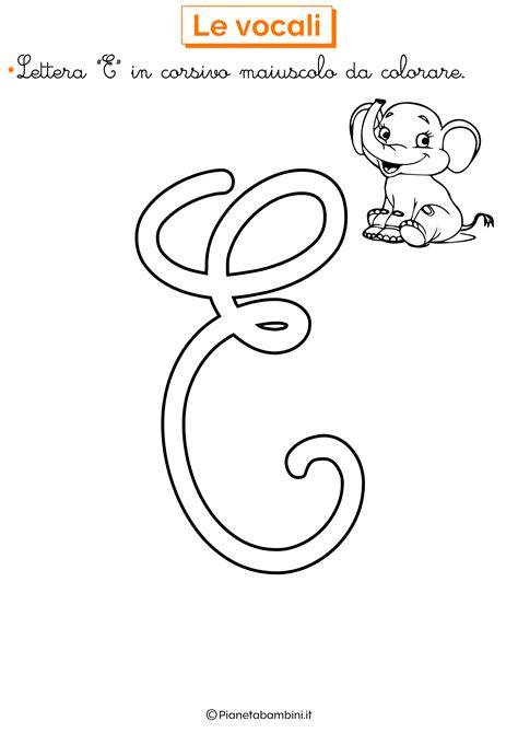 lettere in corsivo da stare lettere alfabeto in corsivo da colorare stae colorare